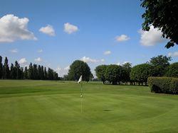 Golf sur l'hippodrome