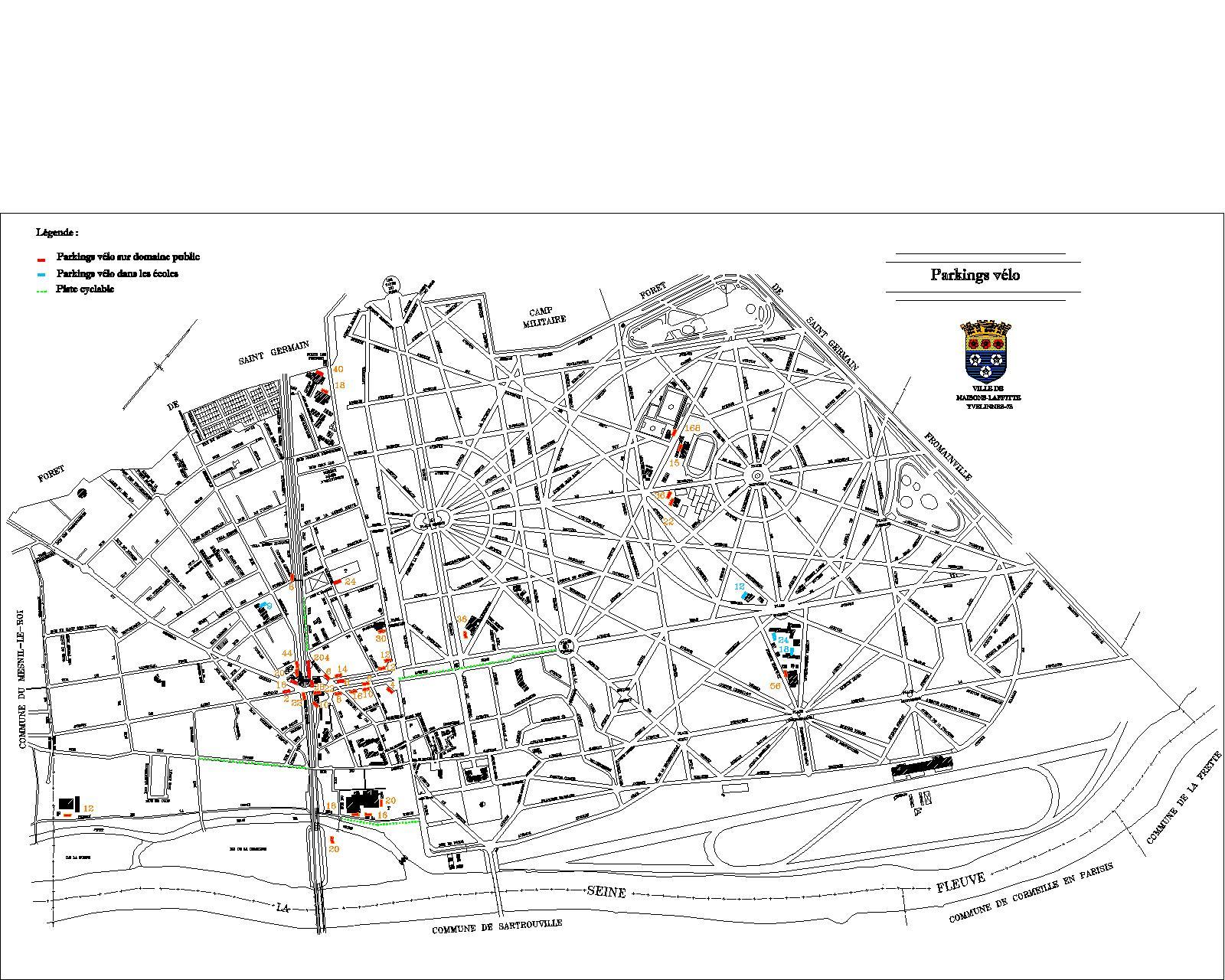 Ville de maisons laffitte stationnement - Piscine maisons laffitte horaires ...